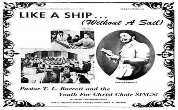 Pastor T.L. Barrett & The Youth For Christ Choir-Like a Ship (Without a Sail)