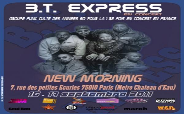 BT Express en concert à Paris