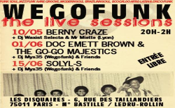 Wegofunk Live Session #3, vendredi 15 c'est la dernière !