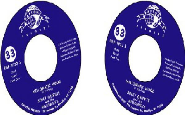 Binky Griptite & The Mellomatics - 'Mellomatic Mood' Pts. 1 & 2