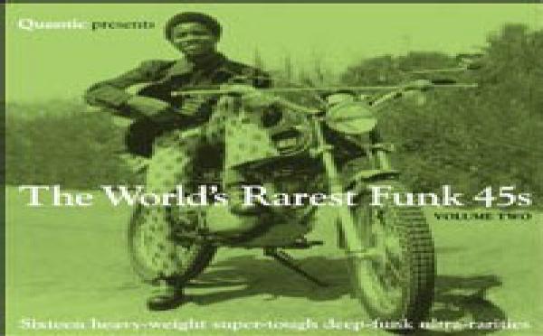 Quantic presents The World's Rarest Funk 45s - Vol. 2